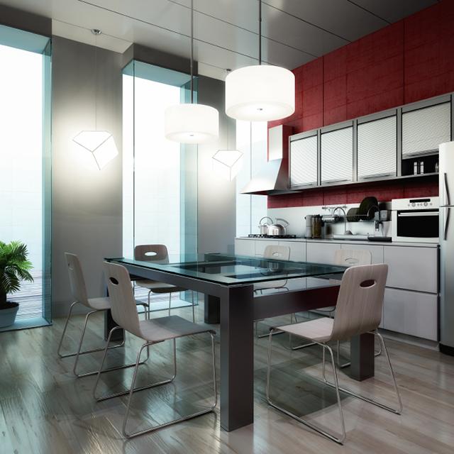 Designlampor i kök